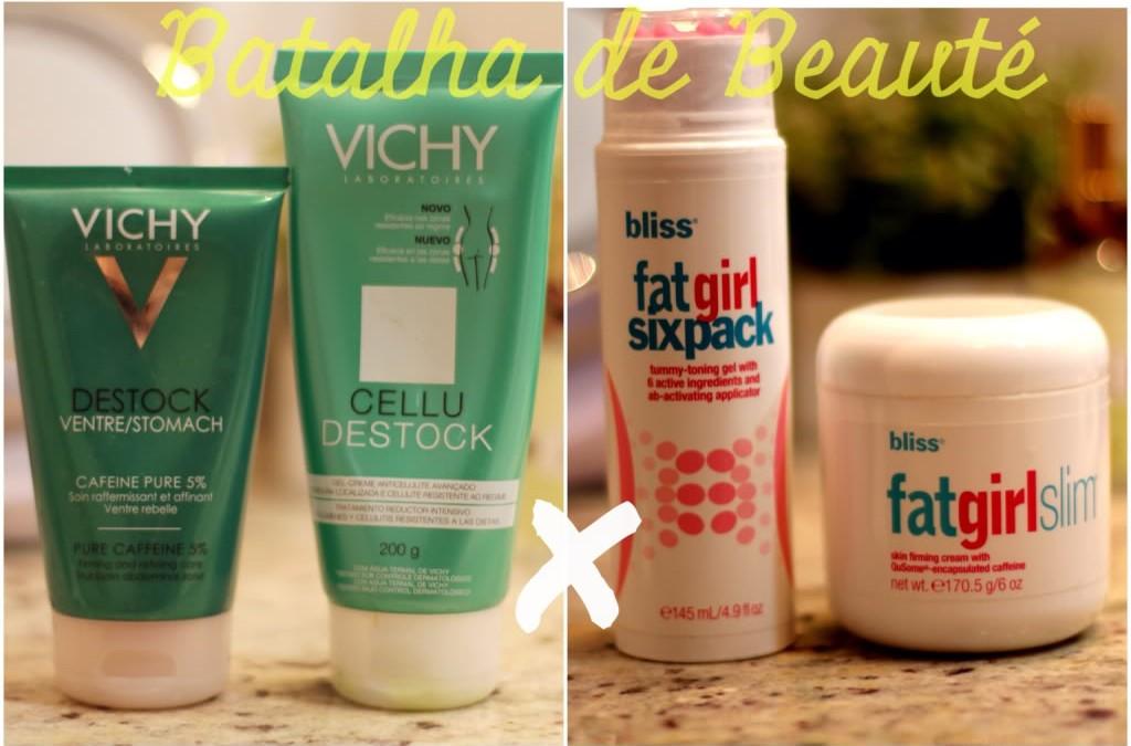 Batalha de Beauty Tips: Vichy x Bliss