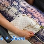 Meu Look: Porcelana + Jeans