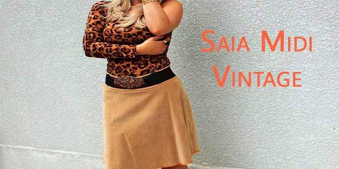 No Look: Saia Midi Vintage
