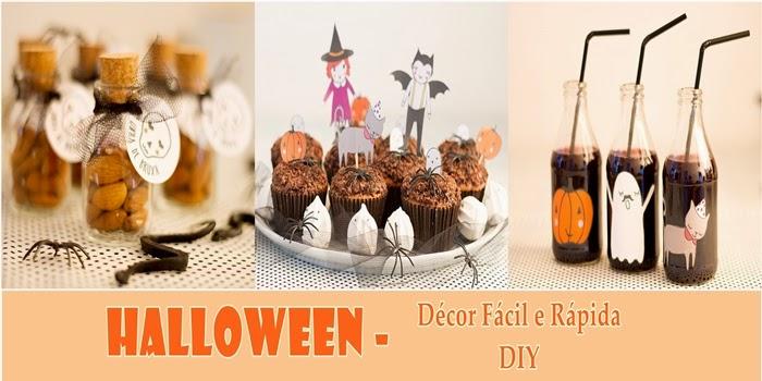 Halloween: Dicas de Décor Fácil e Rápida – DIY