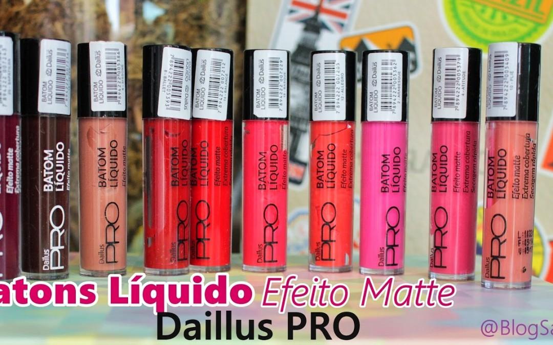 Batom Líquido Efeito Matte Dailus Pro