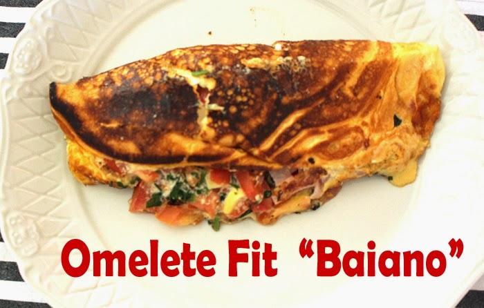 Receita Fit: Omelete Baiano