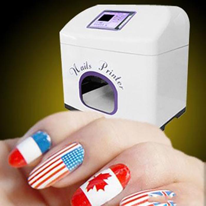 impressora de unhas com nail art