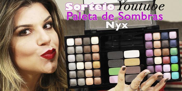 Sorteio Paleta Nyx Soho Glam