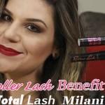Máscara Roller Lash Benefit x Total Lash Cover Milani