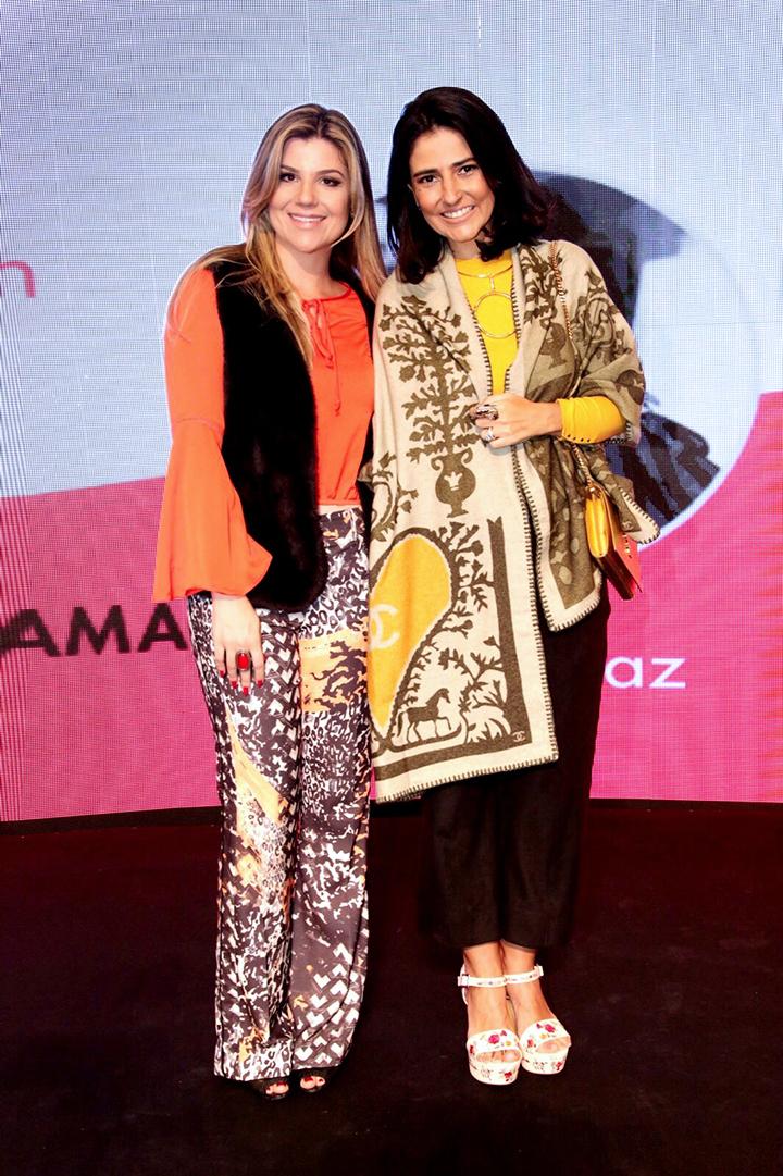 Alice Ferraz e Sabrina Dalmolin Fhits Shopping Curitiba