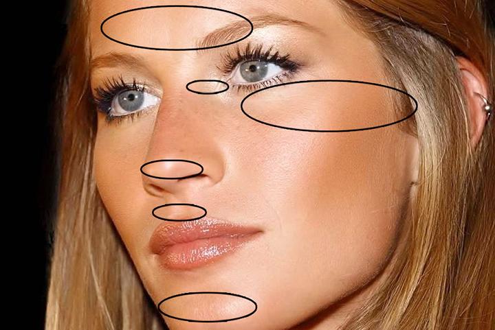 strobing fácil: pele de verão iluminada