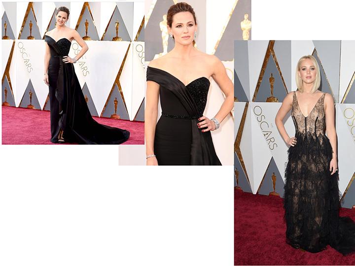 Jennifer Garner e Jennifer Lawrence, indicada a melhor atriz por %22Joy- o nome do sucesso%22 de Dior