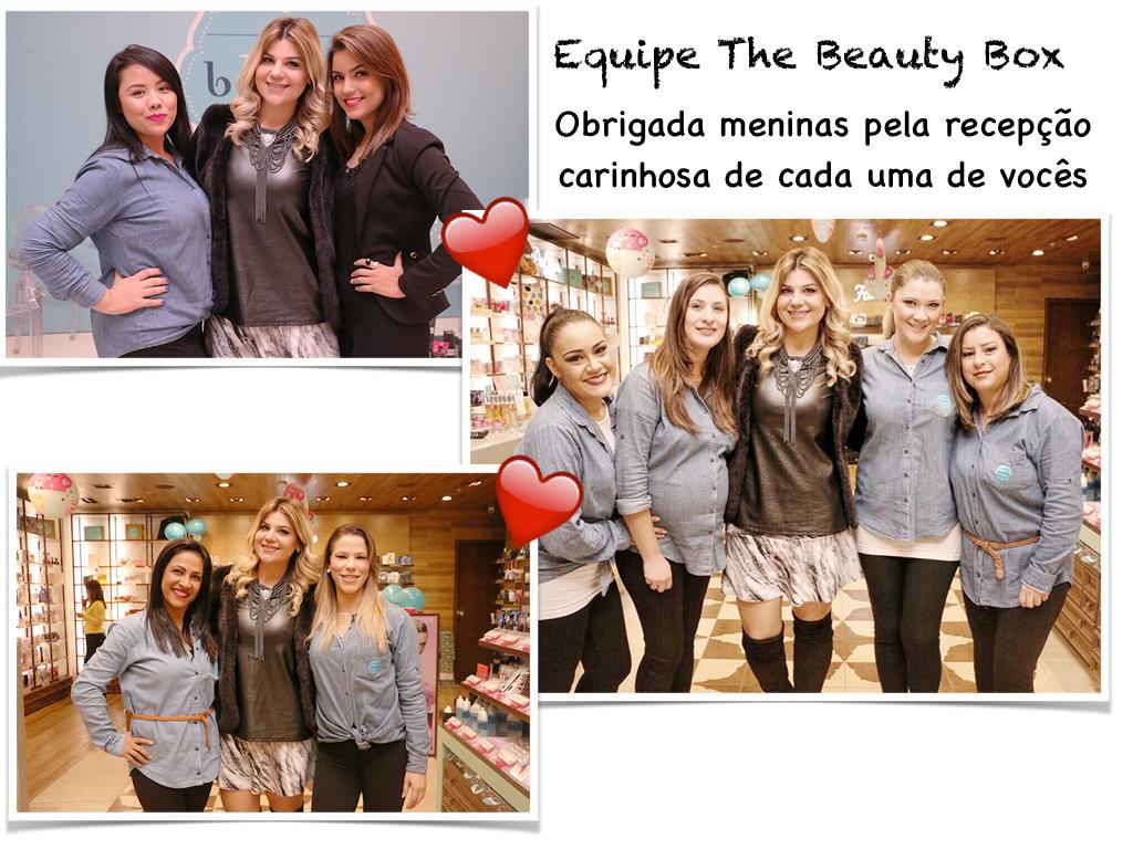 Equipe The Beaut Box Shopping Curitiba