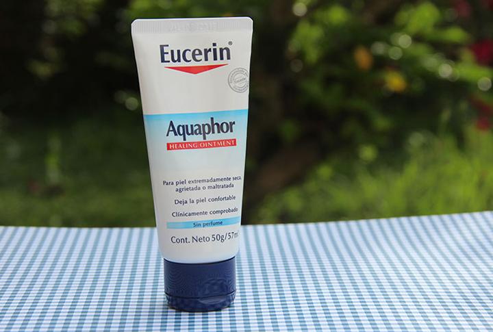 Aquaphor Eucerin hidratante pra peles ressecadas