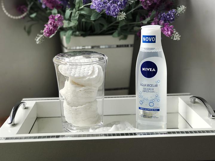 Água Micelar NIVEA Solução de Limpeza 6 em 1