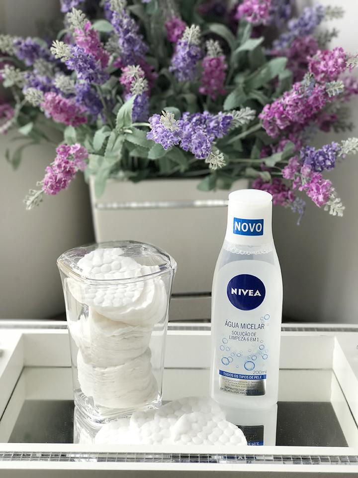 Agua Micelar Nivea solução 6 em 1
