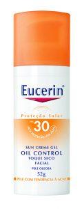 Eucerin Sun Creme-Gel Oil Control Toque Seco – FPS 30 e 60