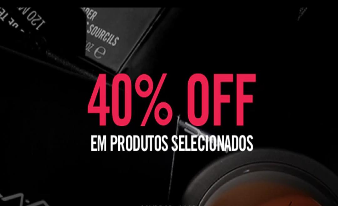 GoodByes: Promoção Mac Cosmeticos