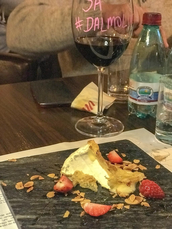Novo cardápio Vino Batel