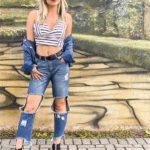 Jaqueta jeans é peça-coringa no armário feminino