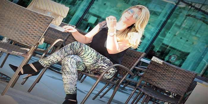 Meu look: Snake Print Pants
