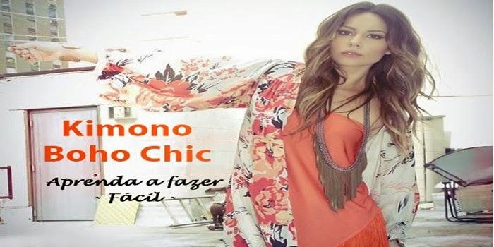 DIY – Kimono: Casual e Chic