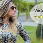 Vestido Lápis Animal Print