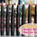 Canetas Batom Sabrina Sato para Yes Cosmetics