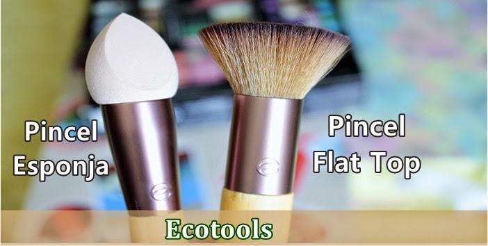 Review: Novos Pincéis Ecotools
