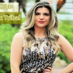 Look do Dia: Vestido Print Tribal Cantão