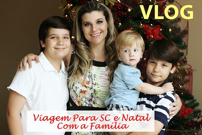 Vídeo Minha Viagem de Natal para SC com a Família