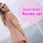 Meu Look: Vestido de Renda Forever 21