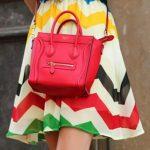 Trend Verão 17: Saia Com Listras Coloridas