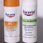 Testei Eucerin Oil Control FPS 60 Toque Seco