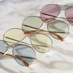 Trend Óculos Com Lente Colorida Transparente